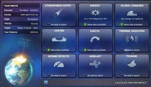 Asteroid impact simulator - Boing Boing