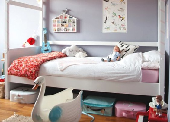 Kids' rooms with an eclectic twist
