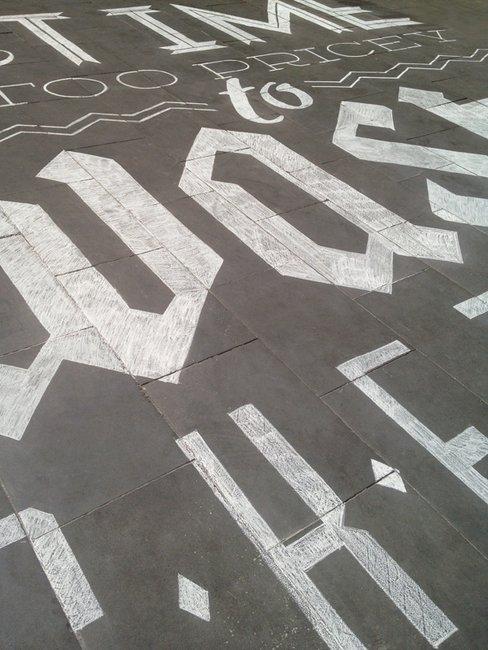 Tommaso Guerra // Hand Chalk Lettering