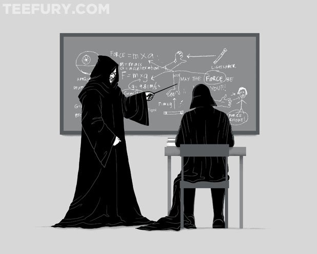 The Physics of the Force T-Shirt