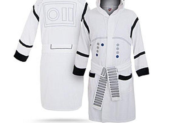 ThinkGeek :: Star Wars Stormtrooper Bathrobe