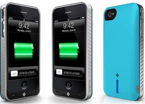 iBattz power-cases for iPhone feature interchangeable batteries