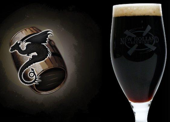 Dragon's Milk Ale Aged in Oak Barrels | New Holland Brewing Company