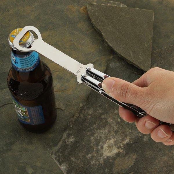 Butterfly Knife Styled Bottle Opener