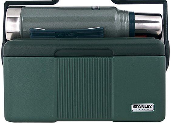 Hammertone Green Classic Lunchbox Cooler & Bottle Combo | Stanley