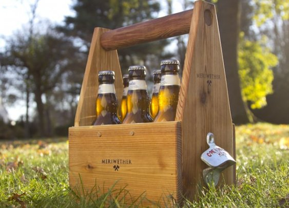 Handcrafted Wood Wine and Beer Carriers