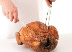 PHOTOS: How To Carve A Turkey, Step-By-Step
