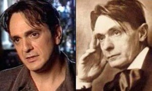 Hank Azaria appears to have been reincarnated as 19th Century Philospoher, Rudolf Steiner - a freaky resemblance!