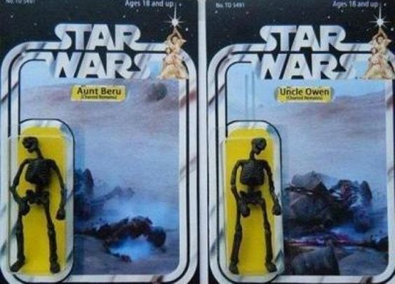 Two star wars toys that never made it to shelves « The Carper