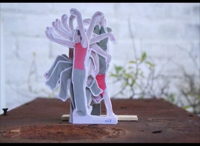 The Modern Dance: Cardboard cut out stopmotion animation | Video | 1:07