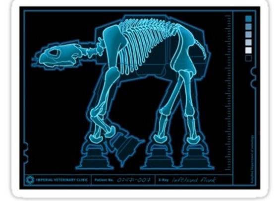 Star Wars Walker X-Ray