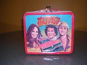 DUKES OF HAZZARD 1980 VINTAGE LUNCH BOX BY ALADDIN!!!!!!!!1   eBay