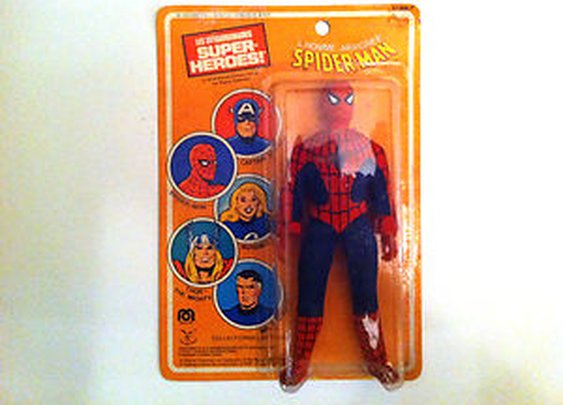 1979 ALL ORIGINAL MEGO SPIDERMAN WITH FRENCH CARD! | eBay