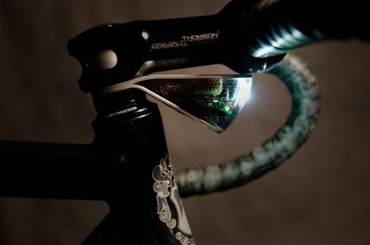 Security and simplicity are at the heart of Sparse bicycle lights