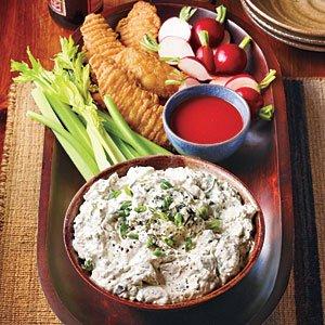 "Blue Cheese ""Hot Wing"" Dip Recipe | MyRecipes.com"