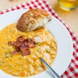 Beer Mac n Cheese Soup — Punchfork