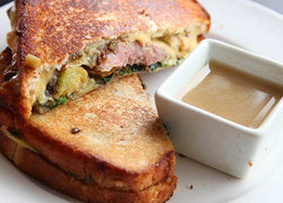 Thanksgiving Leftover Grilled Cheese — Punchfork