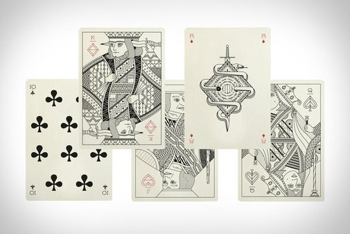 Pedale Playing Cards | Uncrate