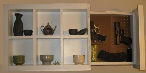 Shadow Box with Hidden Compartment! Perfet for hiding Guns, Cash, Valuables - Lincolnton - Home - Furniture - Garden Supplies