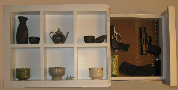 Shadow Box With Hidden Compartment! Perfet For Hiding Guns, Cash, Valuables    Lincolnton   Home   Furniture   Garden Supplies   Gentlemint