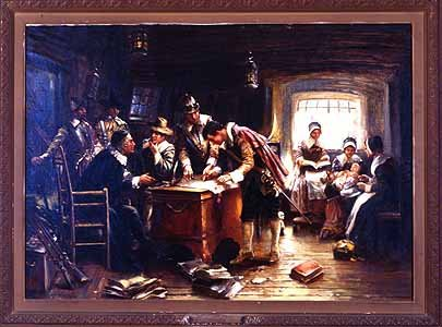The Mayflower Compact 1620