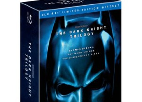 The Dark Knight Trilogy on Blu-ray