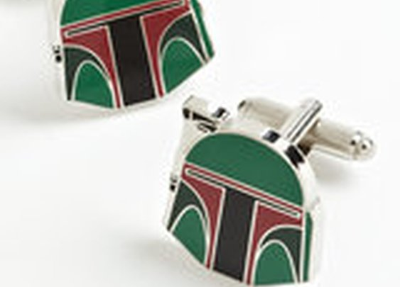Star Wars Boba Fett Cufflinks