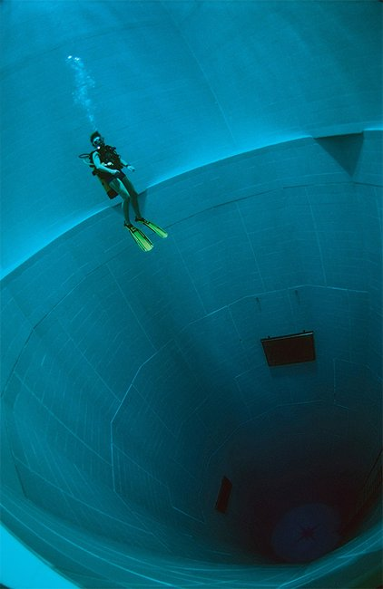 Finding Nemo, The World's Deepest Swimming Pool