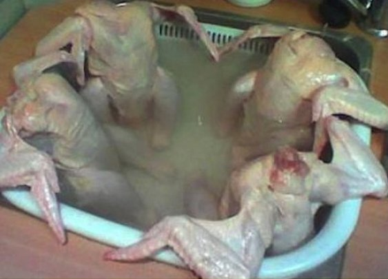 Nothing like a good hottub before dinner
