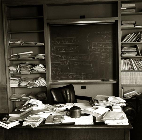 Einstein's Desk on day of his Death