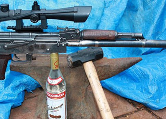 Beating a plowshare into an AK-47
