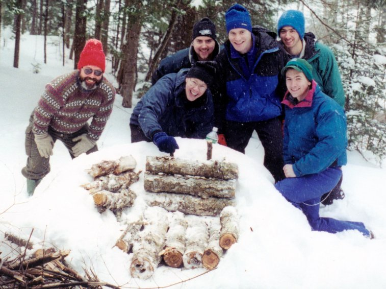 Building a fire in the winter | WinterCampers.com - Celebrating the winter camping experience.