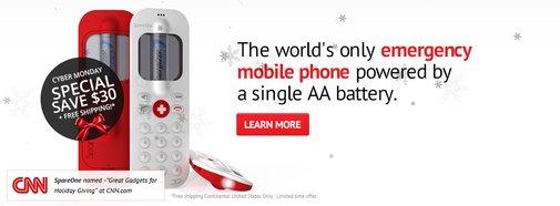 SpareOne | SpareOne Emergency Phone | SpareOne Emergency Phone