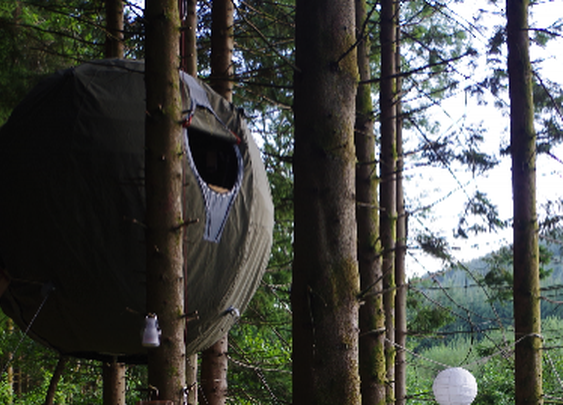 Luminair Tree Tents offer pod-shaped luxury