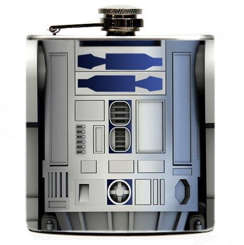 R2D2 6oz Hip Flask