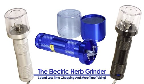 The Electric Herb Grinder