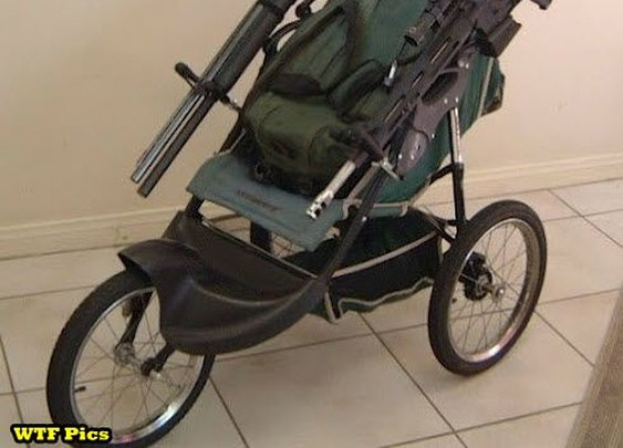 Zombie Revolution Stroller