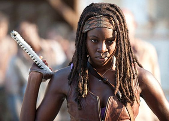 Michonne as a Jedi. Nice lightsaber.