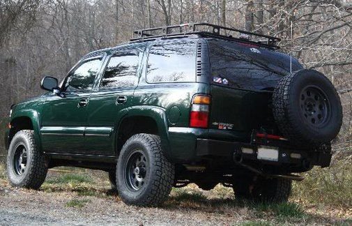 """2002 Tahoe Expeditionary Vehicle """"Under Construction"""" 