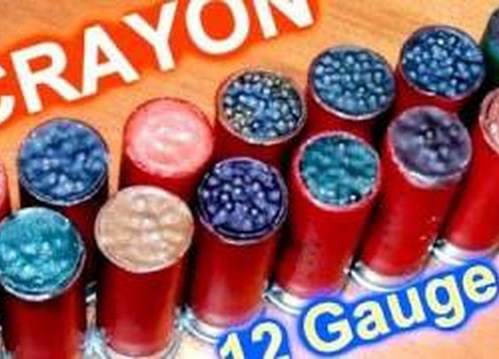 "12ga Shotgun  ""ARTILLeRY""  Homemade Wax Slugs Analysis/Slow Motion - YouTube"