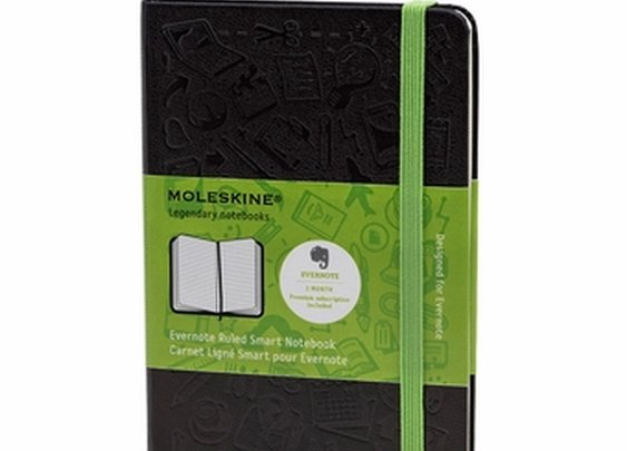 Evernote Pocket Ruled Smart Notebook (3.5 x 5.5), MoleskineUS
