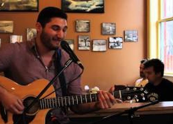 Coffee Shop Acoustic Session... Get Low Cover - YouTube