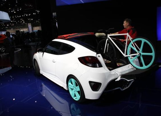 Hyundai Veloster C3 Roll Top Concept: LA Auto Show - AutoTrader.com