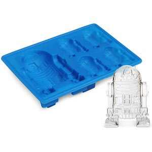 ThinkGeek :: Star Wars R2-D2 Ice Cube Trays