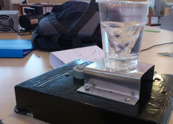 How to make a magnetic stirrer that looks like a professional one