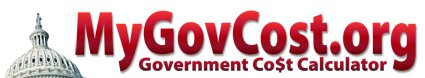 MyGovCost | Government Cost Calculator