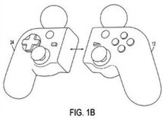 Sony files patent for game controller that splits in two