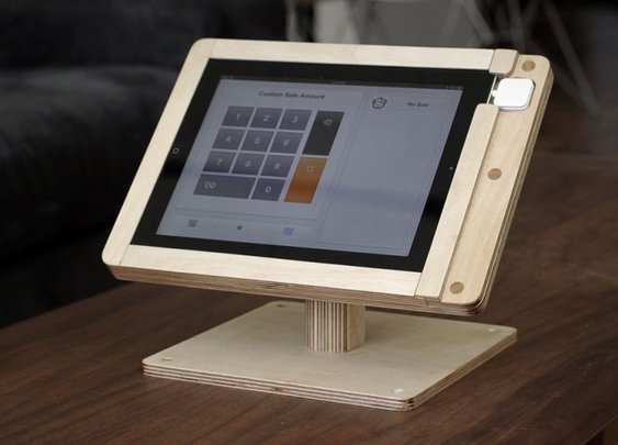 Tinkering Monkey » Making the iPad Square Register Stand