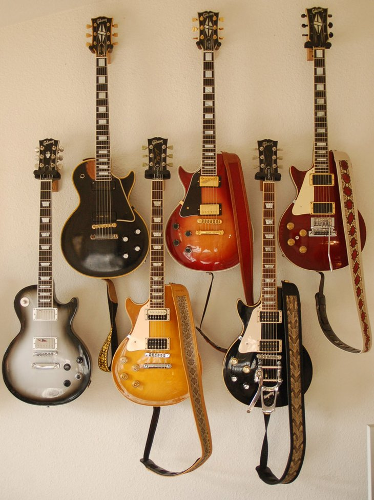Les Paul collection.