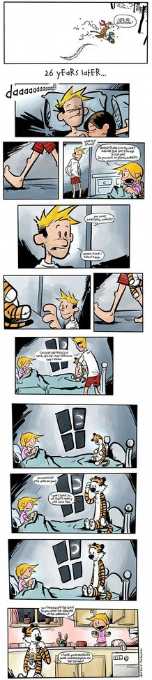 Calvin and Hobbs (26 Years Later...)
